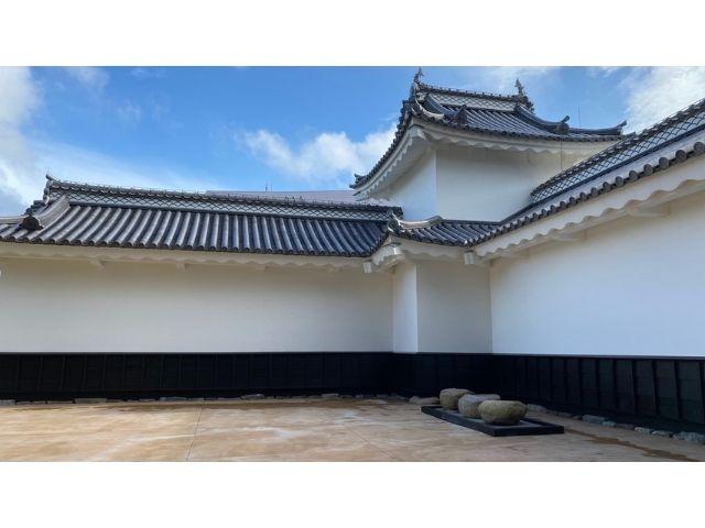 水戸城 二の丸角櫓 復元
