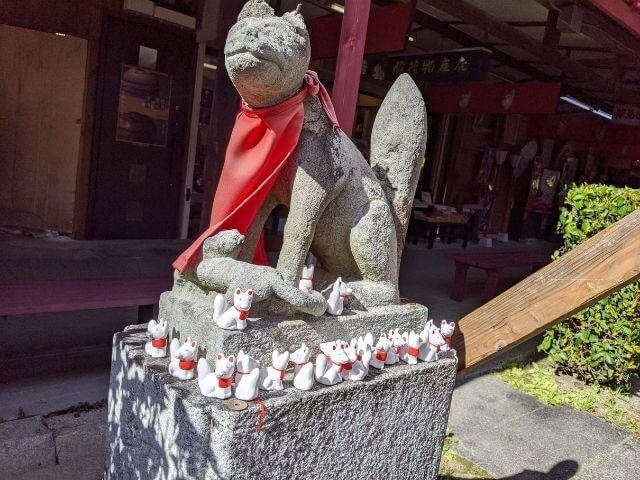 笠間稲荷神社 狐 お稲荷さん
