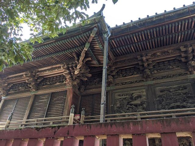 笠間稲荷神社 ご本殿 彫刻