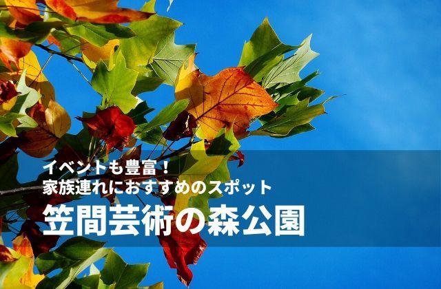 笠間芸術の森公園 イベント