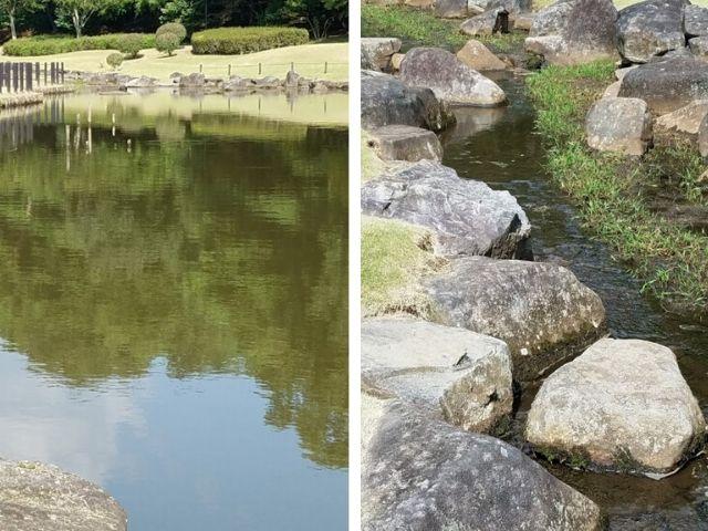 笠間芸術の森公園 園内 池