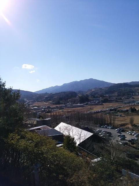 常陸国出雲大社 境内からの景色