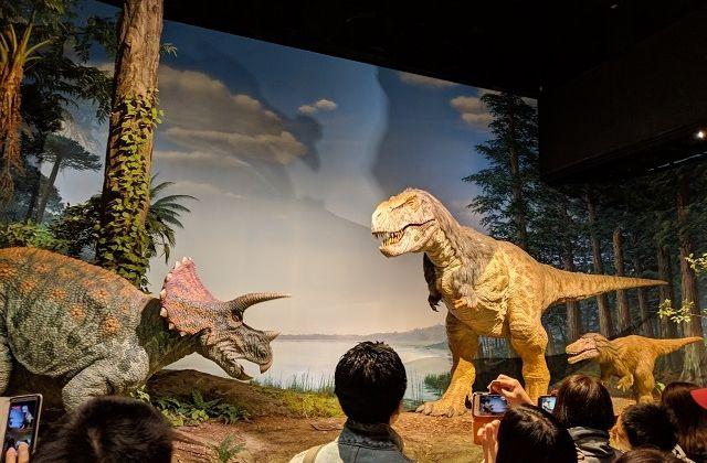 ミュージアムパーク茨城県自然博物館 恐竜