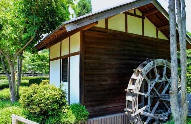 古河総合公園 水車小屋
