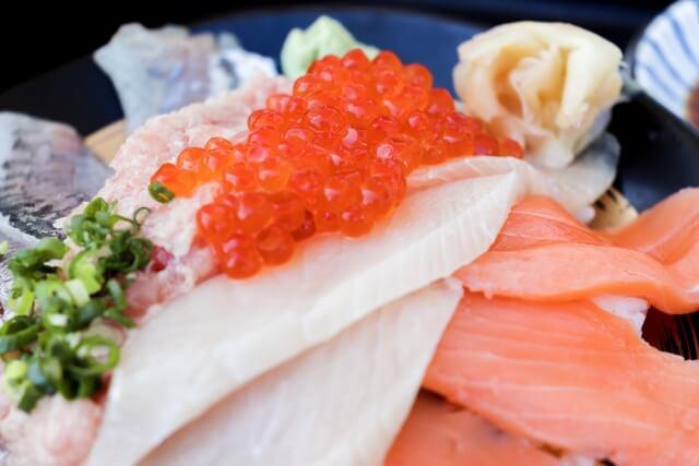 日立おさかなセンター 海鮮丼 味勝手丼