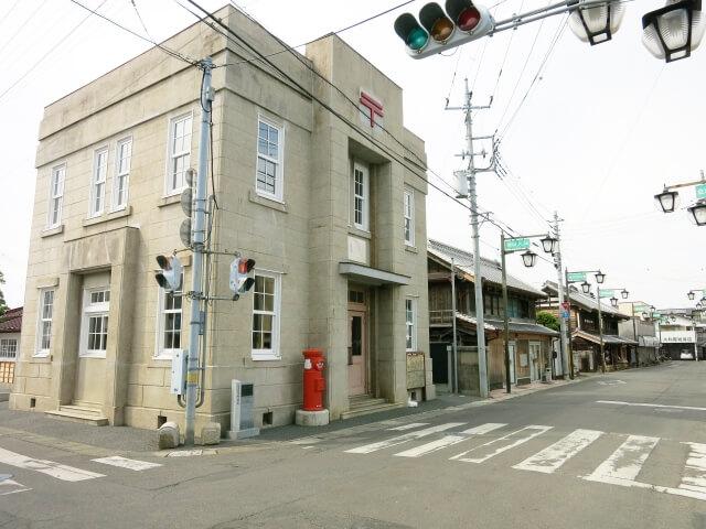 桜川市 紅葉 真壁 旧真壁郵便局 重要伝統的建造物群保存地区