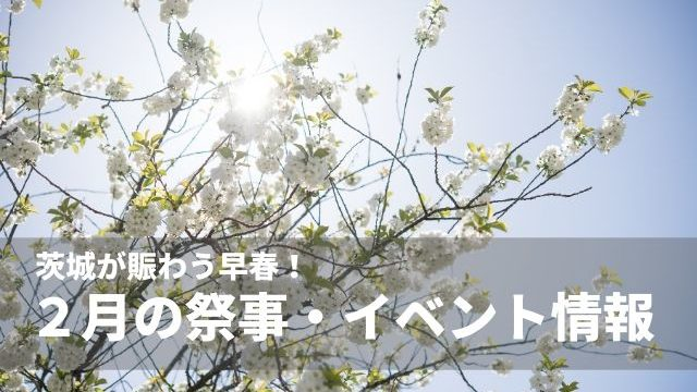 茨城県 イベント 2月