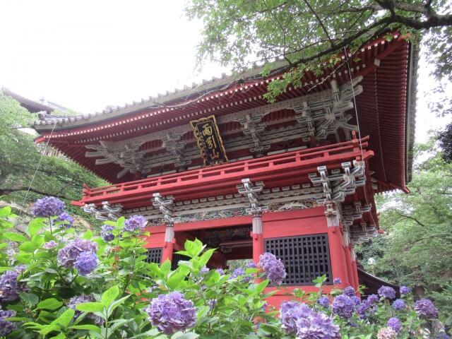 茨城県 神社 寺院 雨引観音 仁王門 桜川市