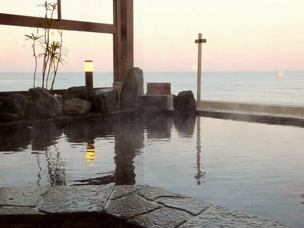 茨城 温泉 日立市 ひたち湯海の宿はぎ屋 露天風呂