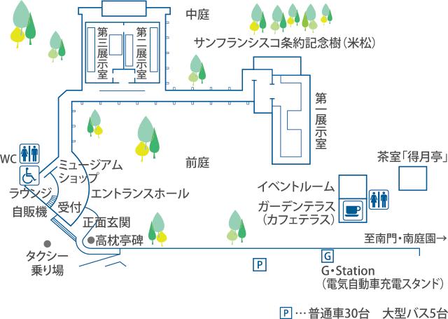 徳川ミュージアム 館内 案内図