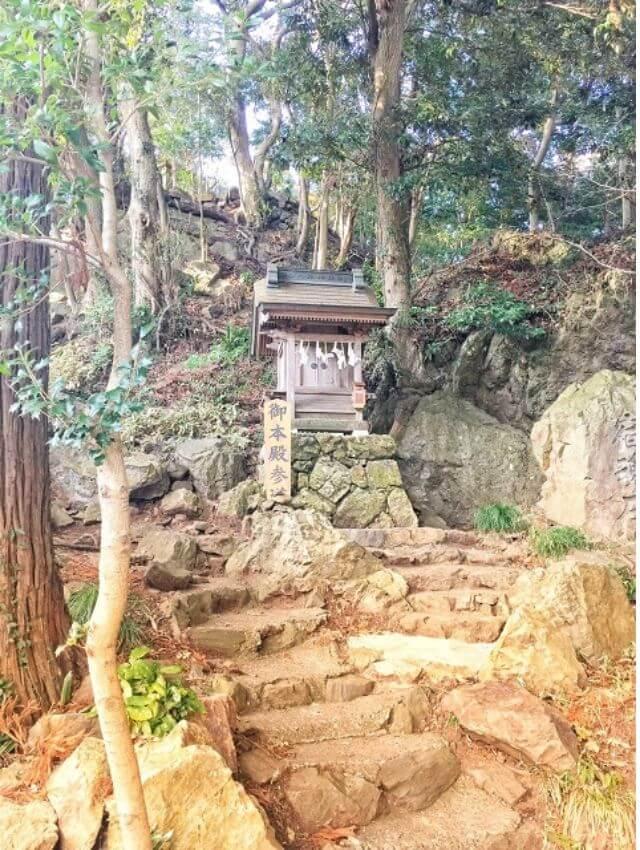 大甕神社 本殿参道 境内 パワースポット