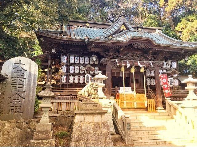 大甕神社 拝殿 境内 パワースポット