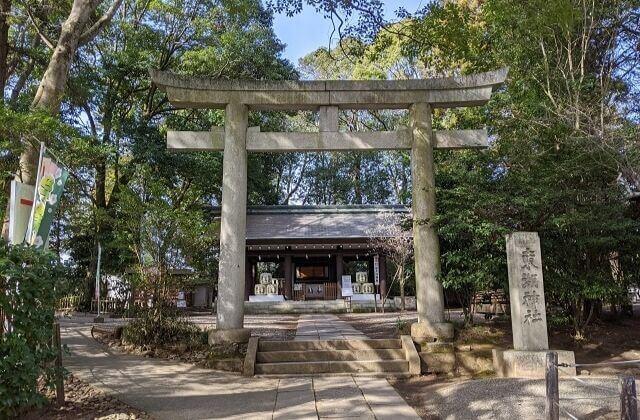 常磐神社 境内 東湖神社