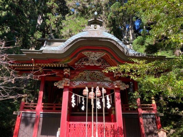 花園神社の御本殿 北茨城市