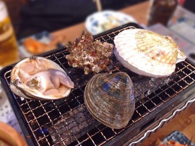 大洗海鮮市場 浜焼き