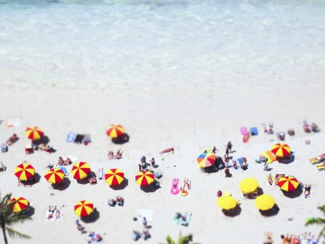 大洗サンビーチ海水浴場 大洗海水浴場 海開き