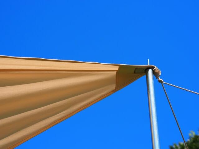 波崎シーサイドキャプ場 テントサイト 風が強い 対策
