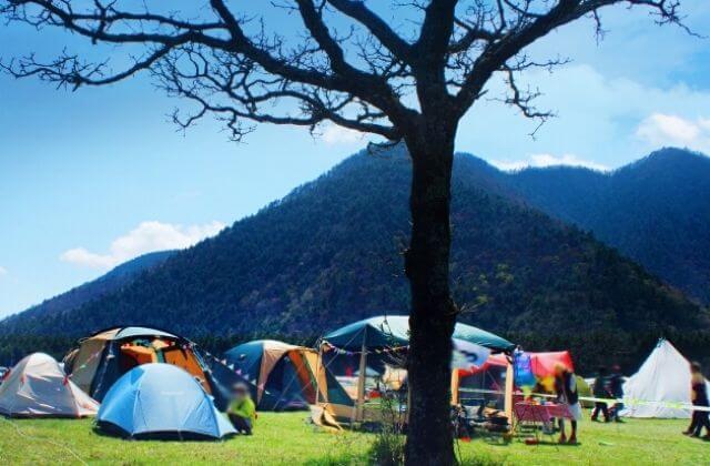 茨城 キャンプ場 山