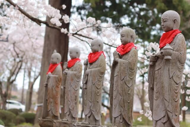 六地蔵寺 水戸大師 枝垂桜 水戸市の御朱印めぐり