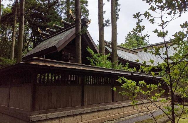 吉田神社 本殿 茨城県水戸市