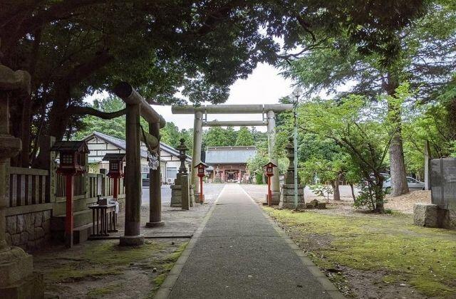 吉田神社 鳥居前 御朱印 水戸市