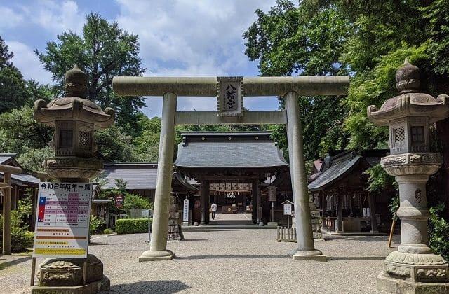 茨城県 神社 水戸八幡宮 水戸市
