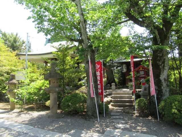 水戸東照宮の境内社 稲荷神社