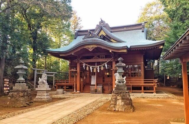 豊受皇大神宮 拝殿 東海村 茨城県 神社