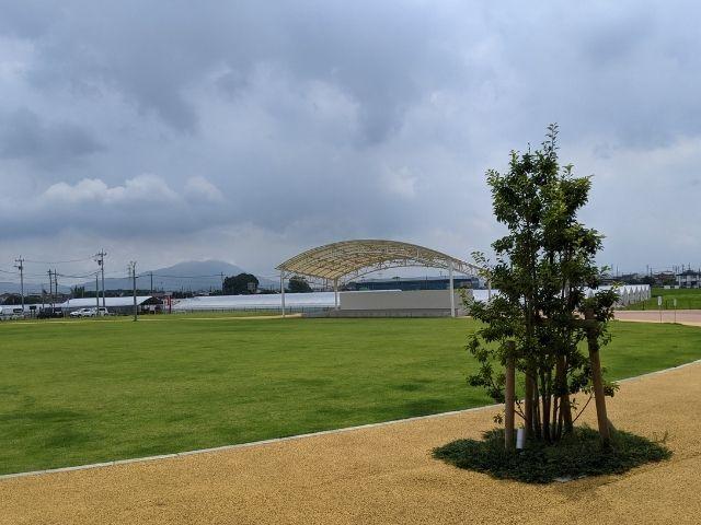 道の駅 グランテラス筑西 イベント 芝生広場 ステージ 筑西市