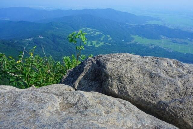 筑波山 登山 山頂からの景色