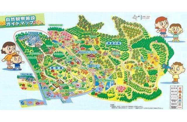 茨城県植物園 園内マップ