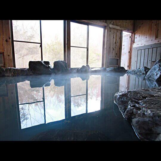 湯の澤鉱泉 日帰り 温泉 岩風呂