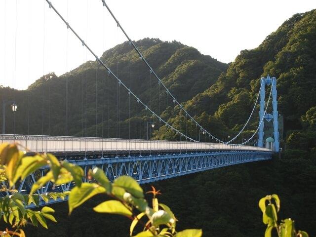 竜神大吊橋 灯篭まつり 常陸太田市 竜神峡