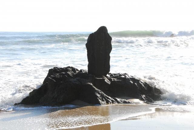 五浦海岸 六角堂 周辺 磯原海岸 野口雨情 石碑 北茨城