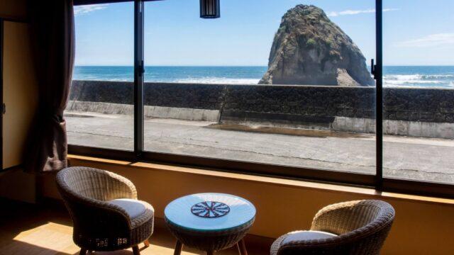 磯原二ツ島海水浴場 旅館 温泉 二ツ島観光ホテル